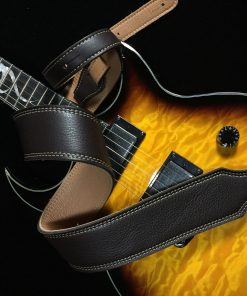 reversible guitar strap 3 ply glove leather franklin strap. Black Bedroom Furniture Sets. Home Design Ideas