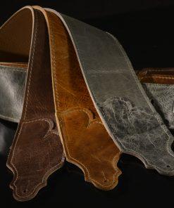 Jackson Hole Aged Leather Guitar Strap