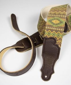 Old Aztec Canvas Guitar Strap