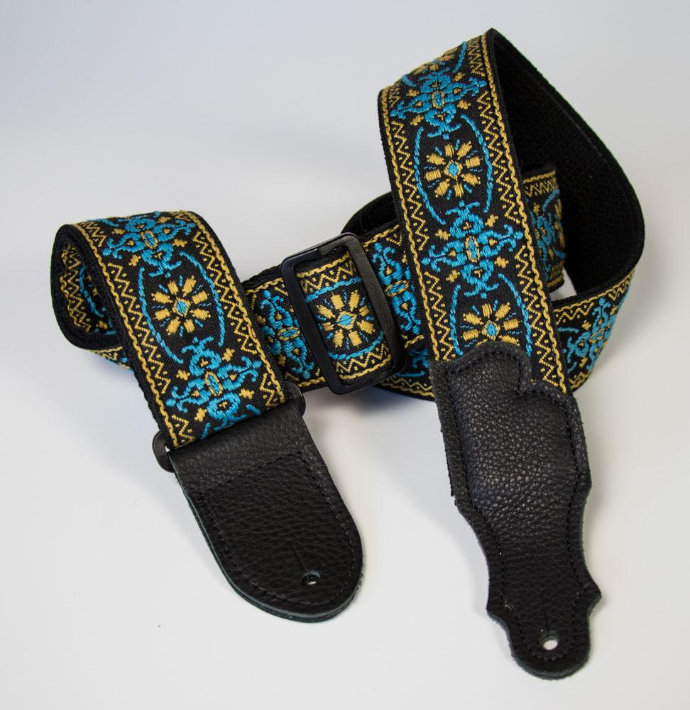 Retro Folk Weave Guitar Strap