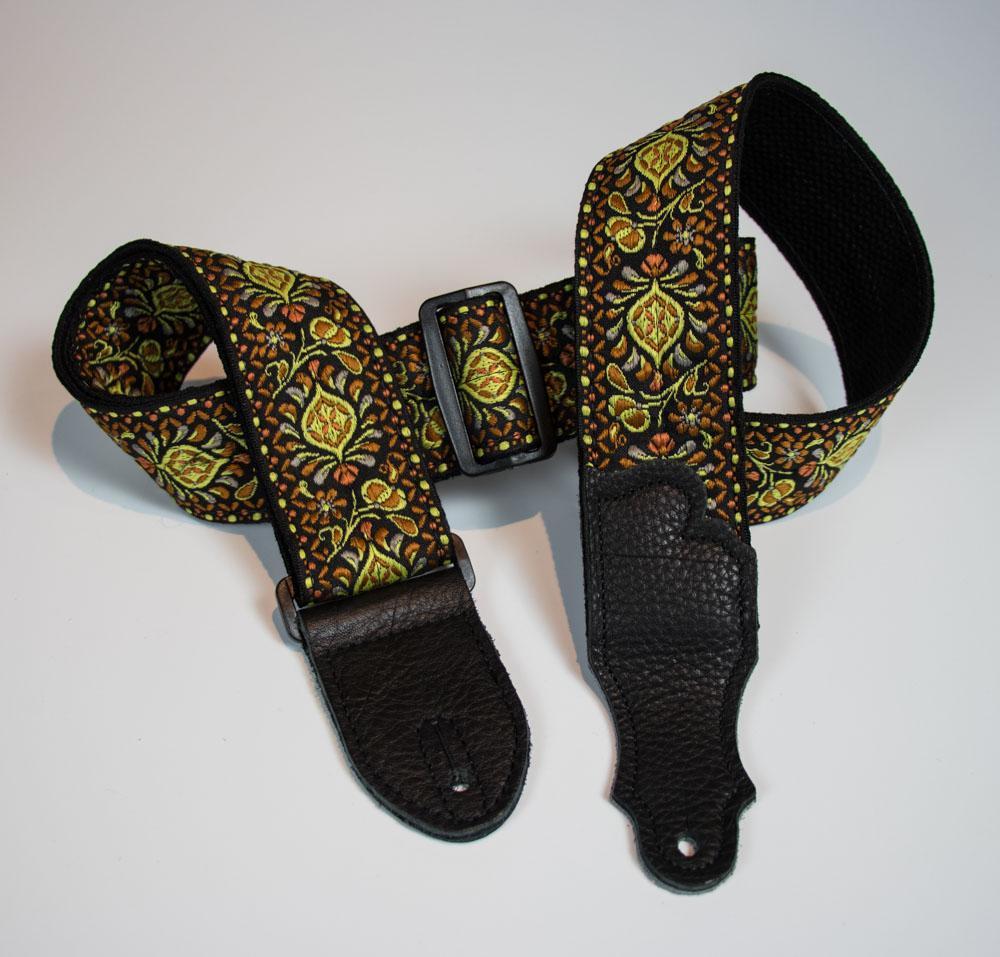 Retro Folk Weave Guitar Strap
