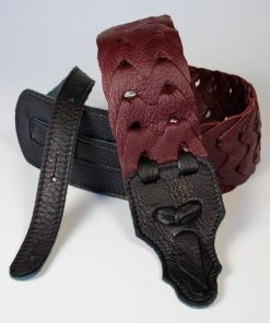 Link Glove Leather Handmade Guitar Strap
