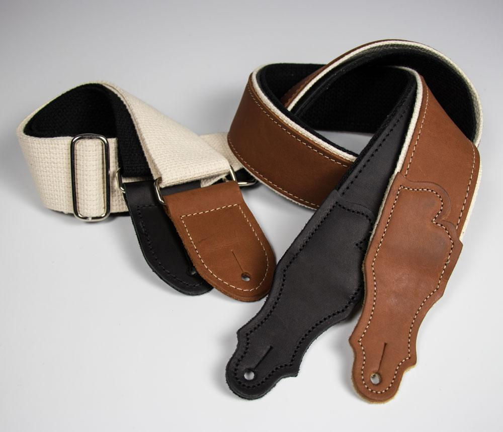 Hybrid Glove Leather Guitar Strap